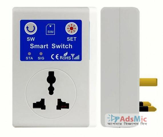 Cellphone GSM Switch Socket with Remote Control