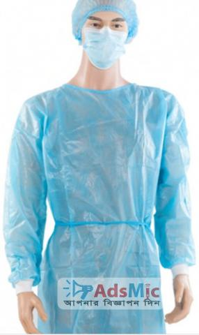 Washable Disposable Polyester Isolation Gown Washable Disposable Polyester Isolation Gown