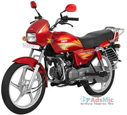 Hero Splendor Plus 100cc Air-Cooled 4 Stroke Motorcycle