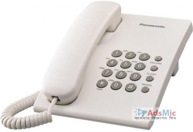 Panasonic KX-TS500 Wall-Mountable Corded Telephone Set