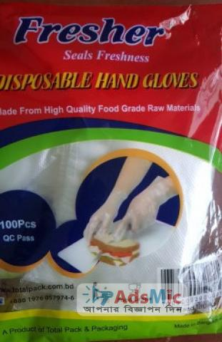 Fresher Disposable Hand Gloves