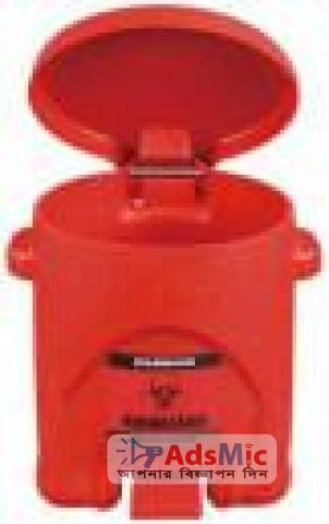 sysbel Biohazard 53L Medical Waste Disposal Container