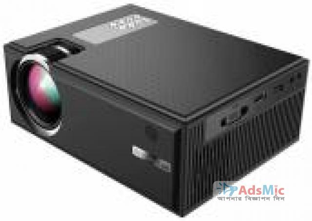 Cheerlux C8 LED TV Projector with Wi-Fi