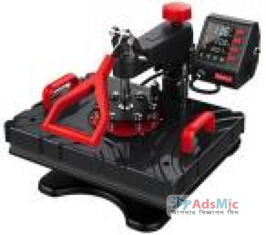 reesub P8100 5-in-1 Combo Heat Press Machine