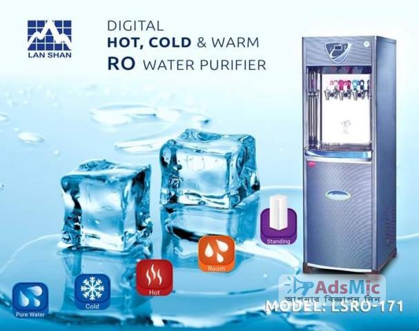 Digital Hot Cold Warm Lan Shan LSRO-171 RO Purifier